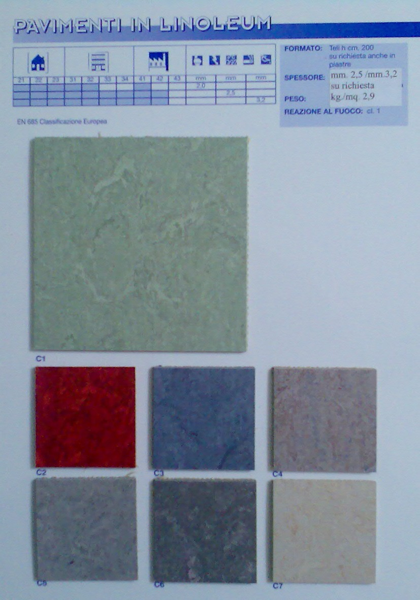 Offerte pavimenti e copripavimenti in gomma pvc for Pavimenti linoleum ikea
