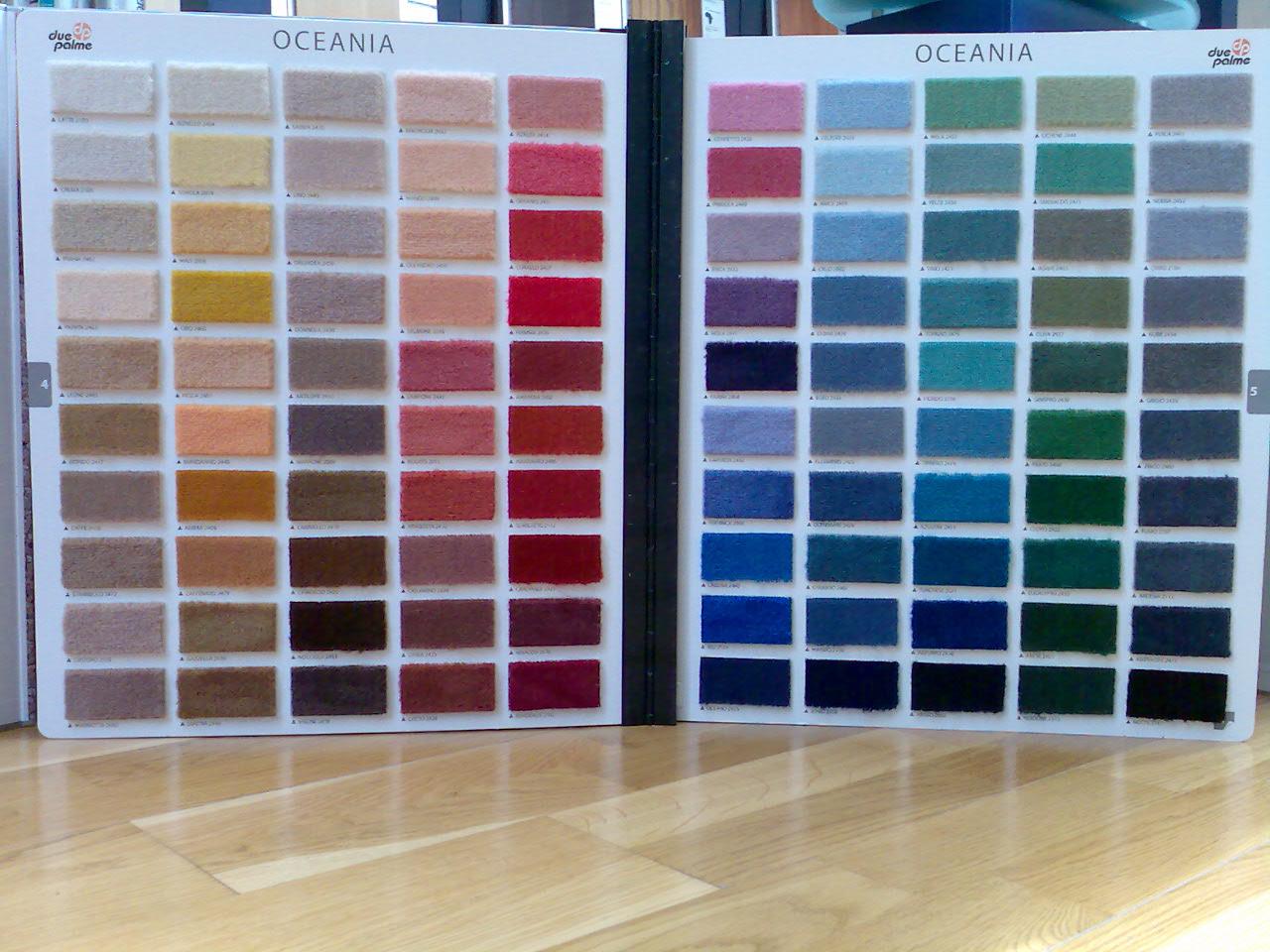 Sit in due palme moquette e tappeti in lana e velluto - Dipingere camera da letto due colori ...